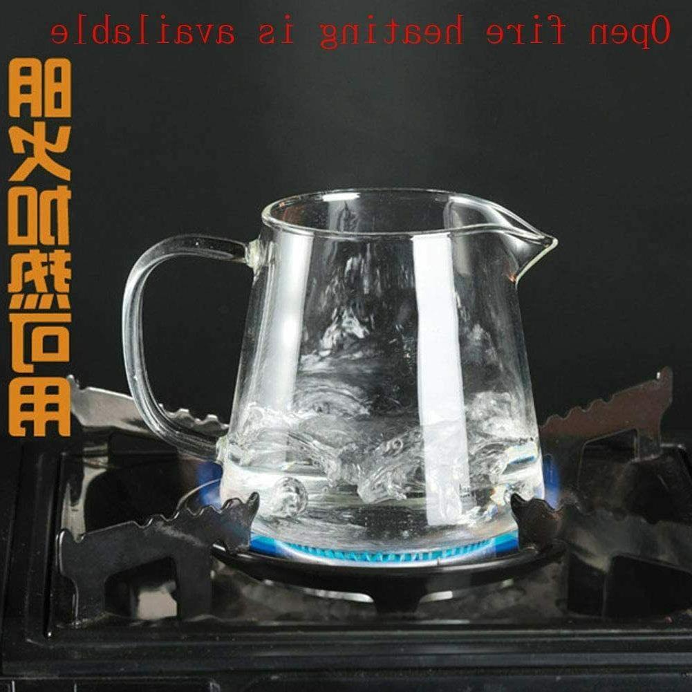 Glass Teapot steel Infuser high Kettle Set Tea Pot