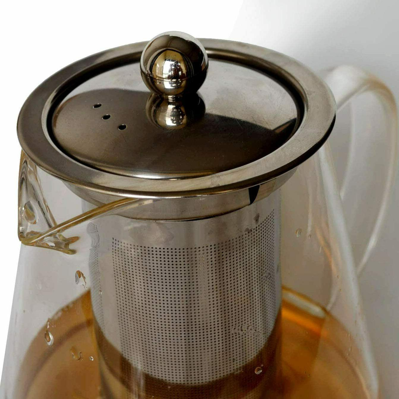 Glass Teapot Kettle Set