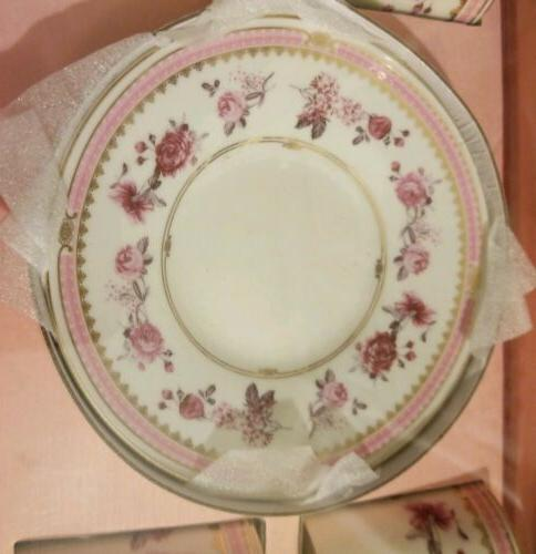Grace's Teaware Espresso Tea Cup Saucer Roses Set pcs Demitasse