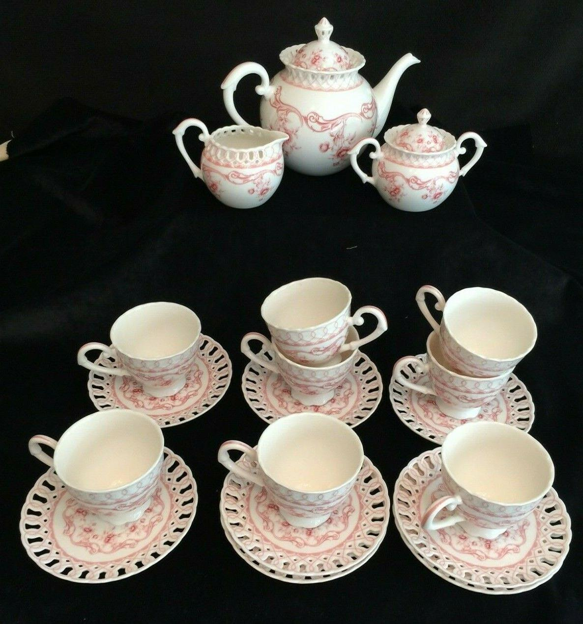 grace s teaware pink vine tea set
