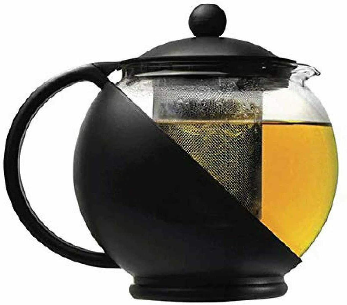 Half Teapot Glass Tea