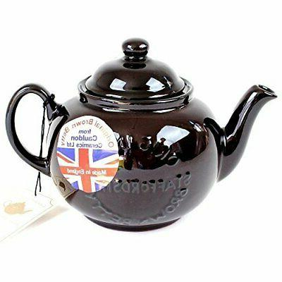 "Handmade Original Brown Betty 4 Cup Teapot with ""Original St"