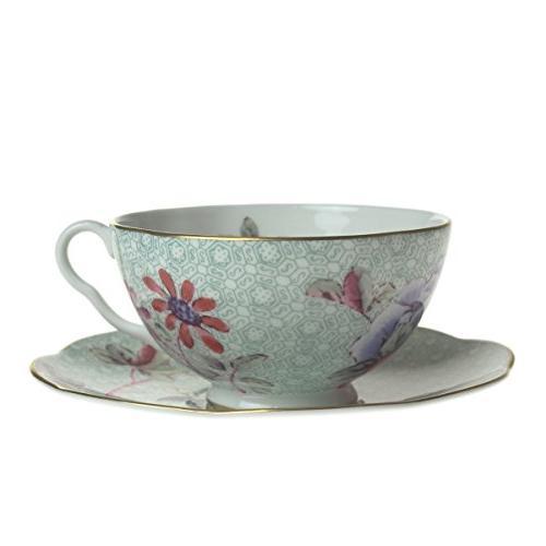 harlequin cuckoo tea cup saucer