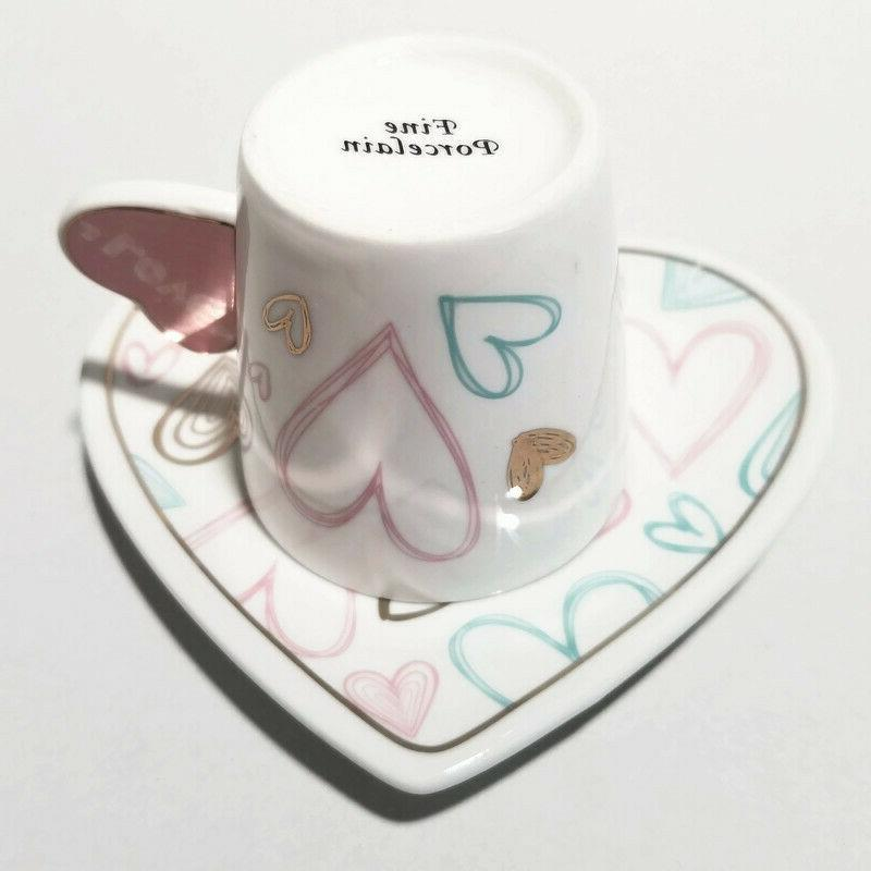 Heart Coffee,Espresso & set of Set