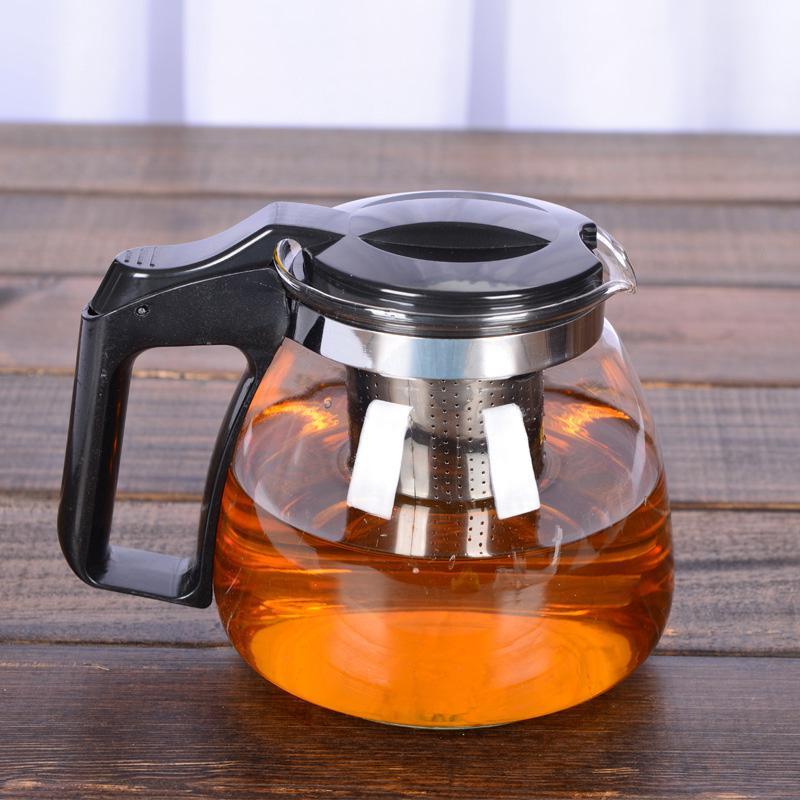 Heat-resistant Glass Teapot <font><b>Stainless</b></font> <font><b>Tea</b></font> Kettle