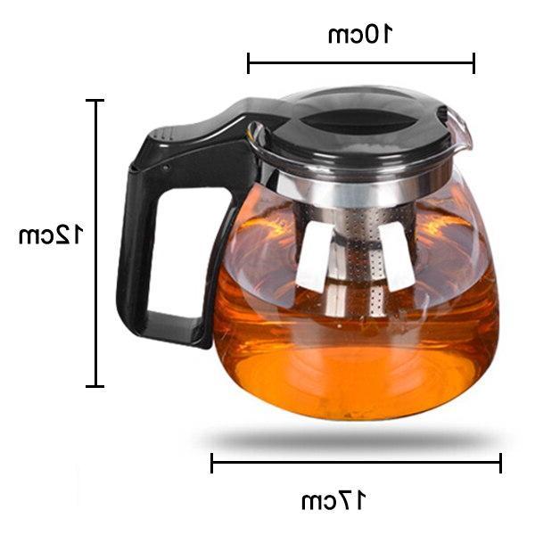 Heat-resistant Glass <font><b>Set</b></font> <font><b>Stainless</b></font> <font><b>Steel</b></font> Kettle <font><b>Tea</b></font> <font><b>Set</b></font> HG99