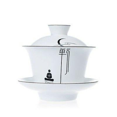 XDOBO High End Fat White Matt Handmade Kung Fu Tea Set Vinta