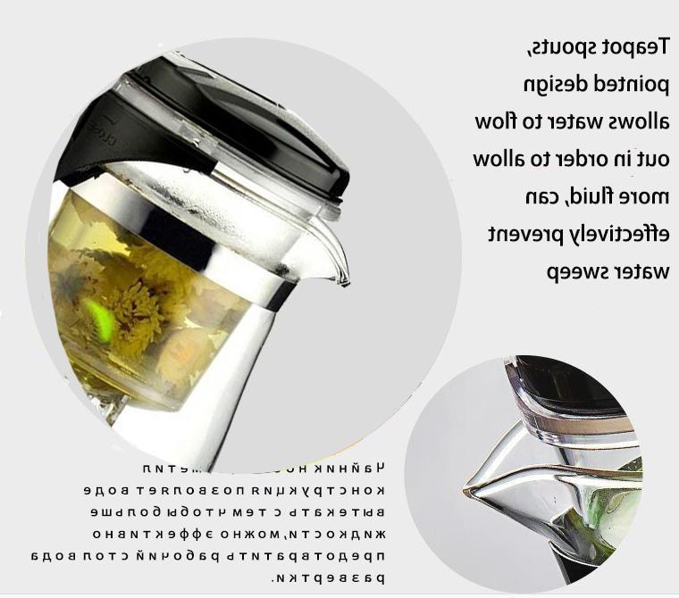 High Heat Resistant Glass fu <font><b>Tea</b></font> Convenient