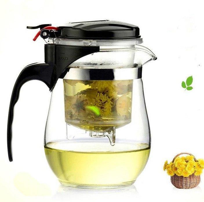 High Glass Chinese fu <font><b>Tea</b></font> Kettle Convenient