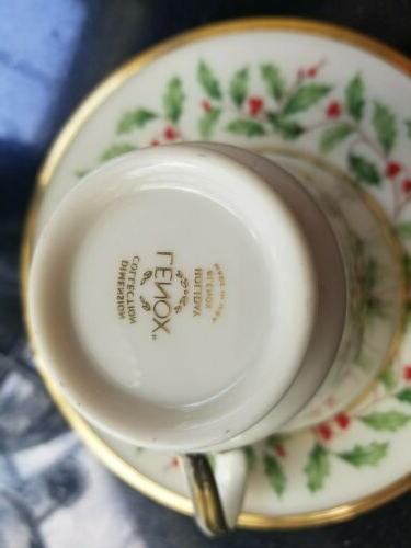China 24K 2 Tea Saucer