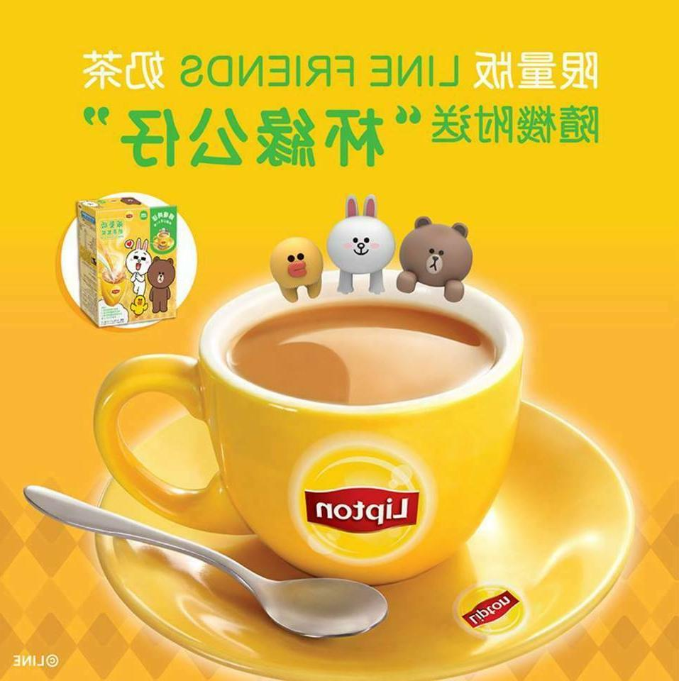 Hong Lipton Edition Tea With Figure