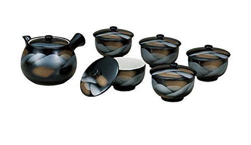 japanese tea cup set w