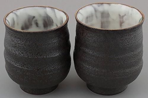 Kutani Yunomi Camellia Designed cups Comes w/ a size K4-726