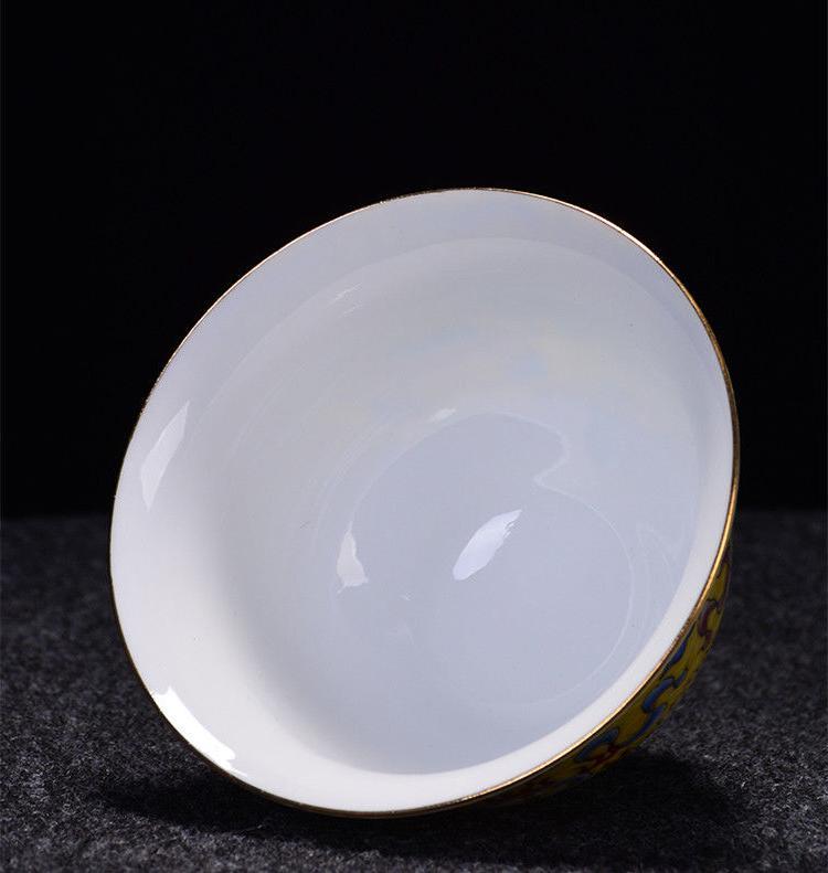 Jingdezhen gaiwan handpainted tureen cup