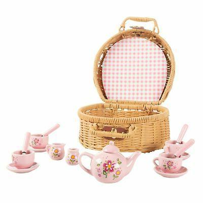 kids tea set mini porcelain tea party