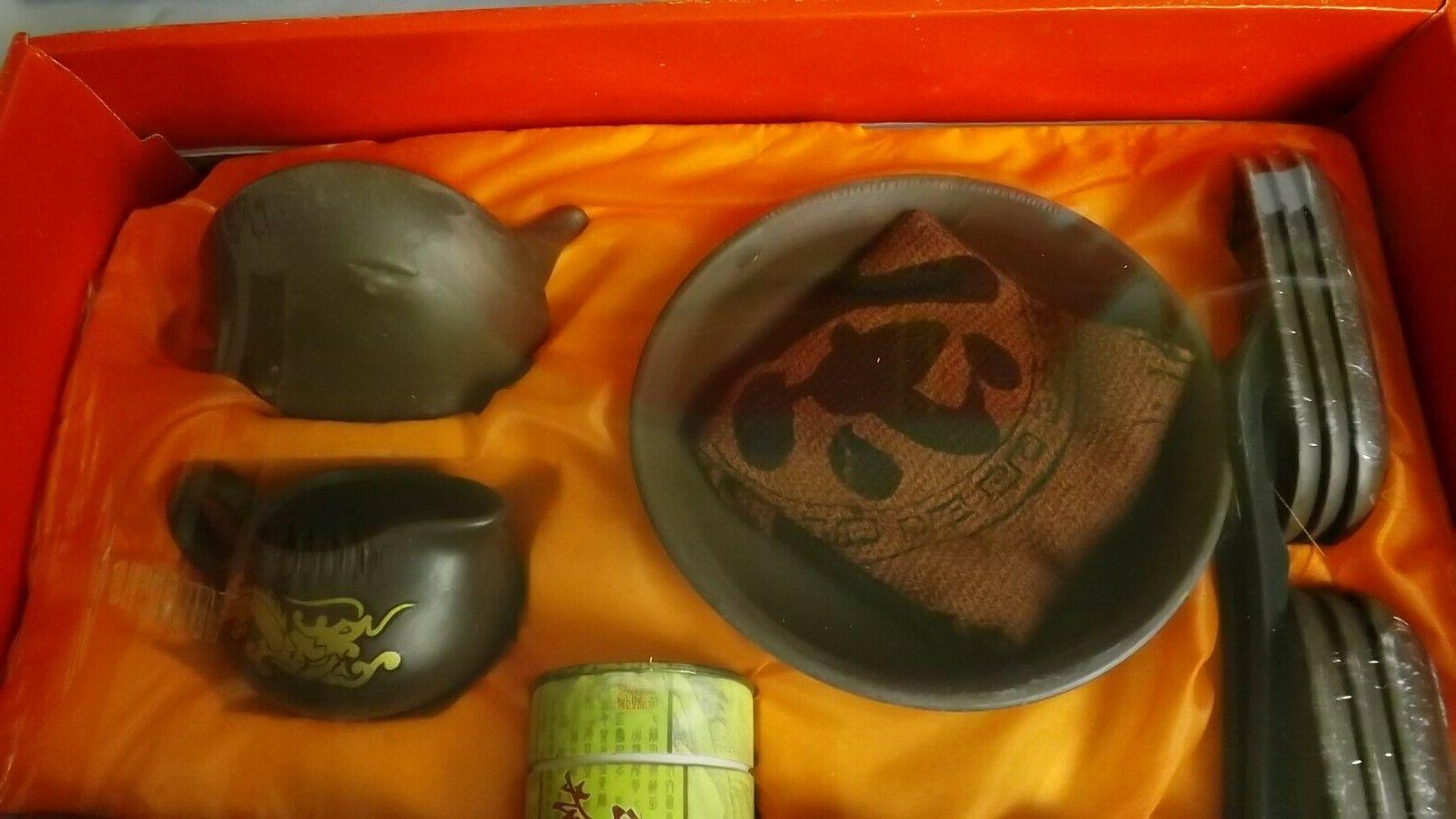 kungfu tea set , clay no ON