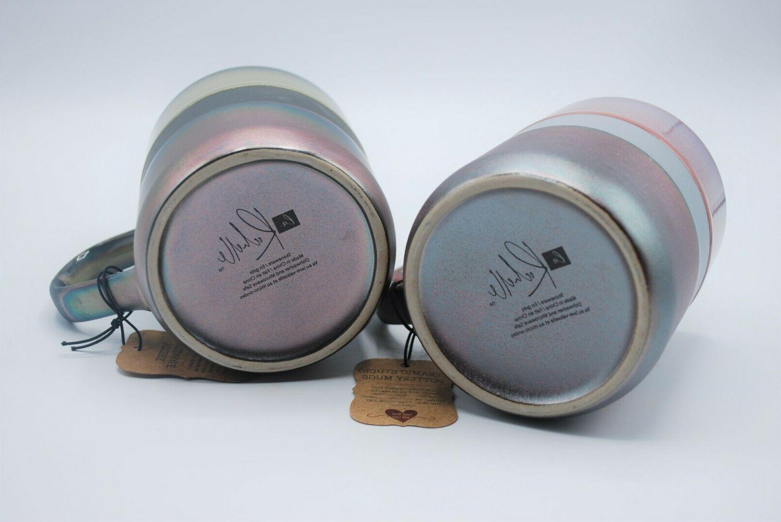 La Rochelle Coffee Tea Mugs Green 2