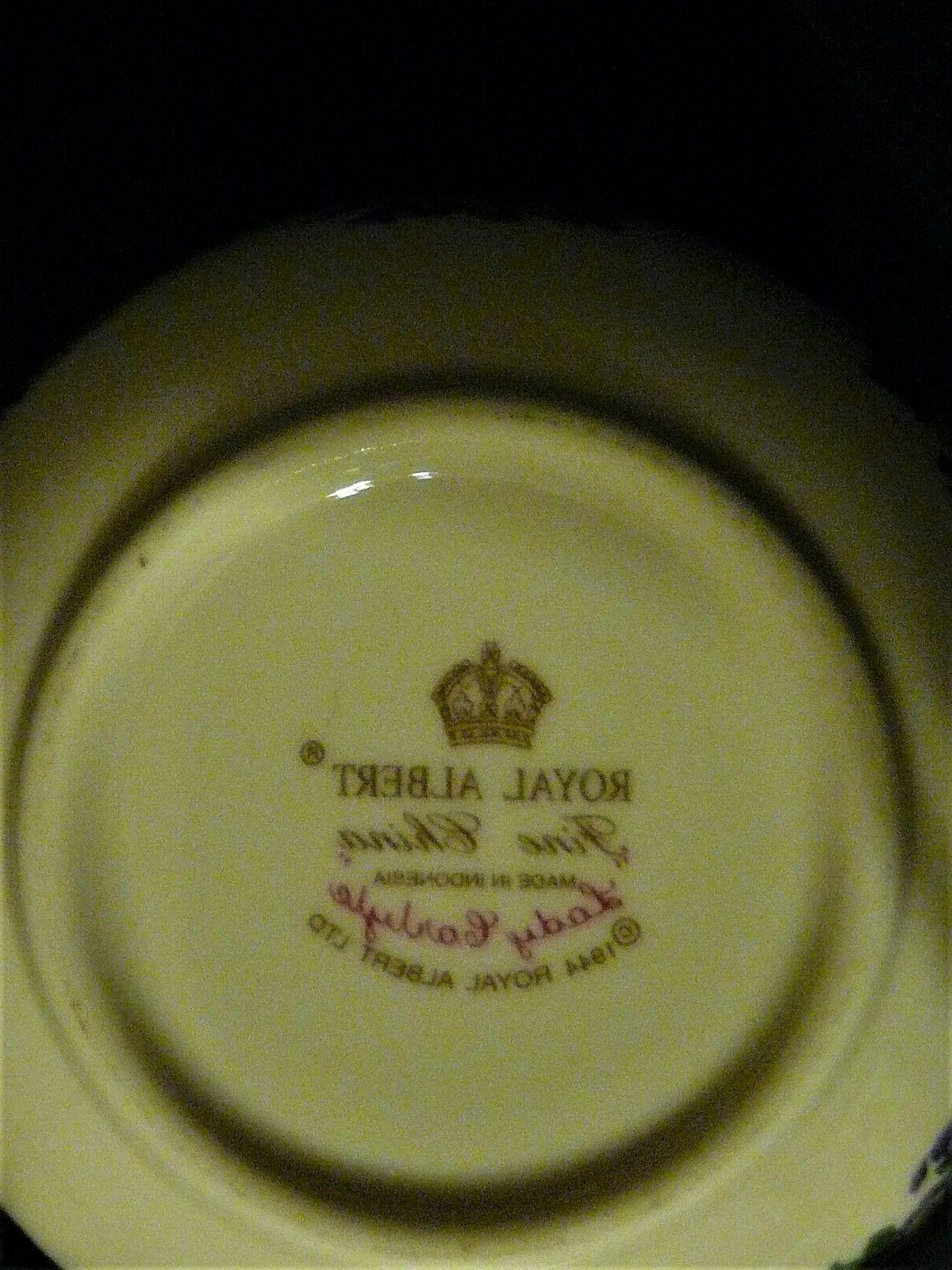 """Royal """"LADY CARLYLE"""" set 4 bone"""
