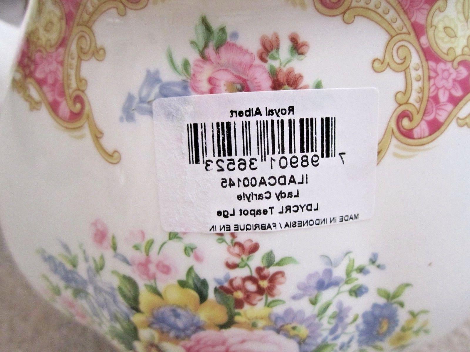 Royal Albert Lady Carlyle Teapot China New
