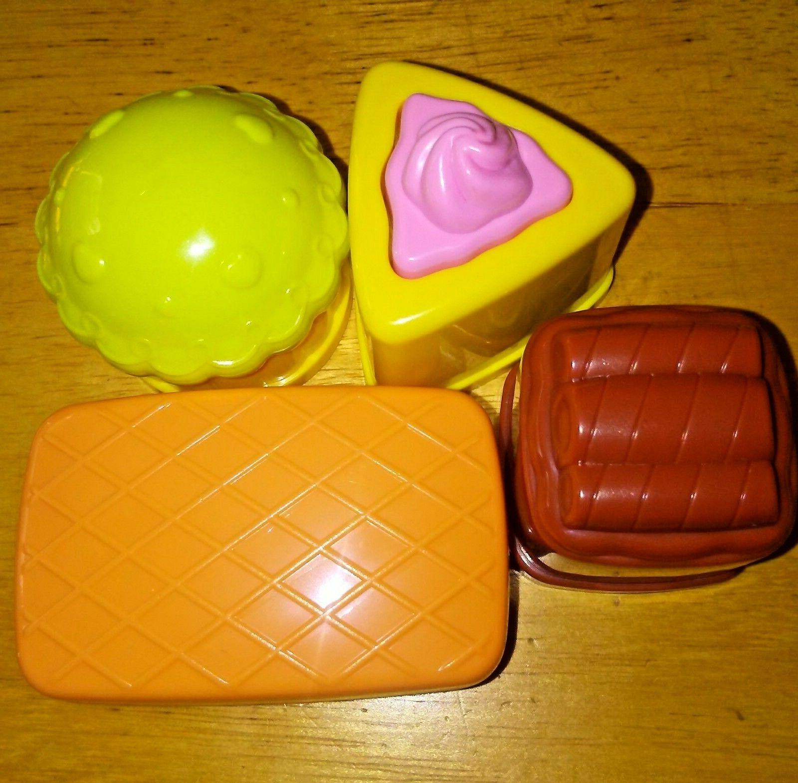 Vtech Learn Pretty Party Playset Food Pieces Set 4