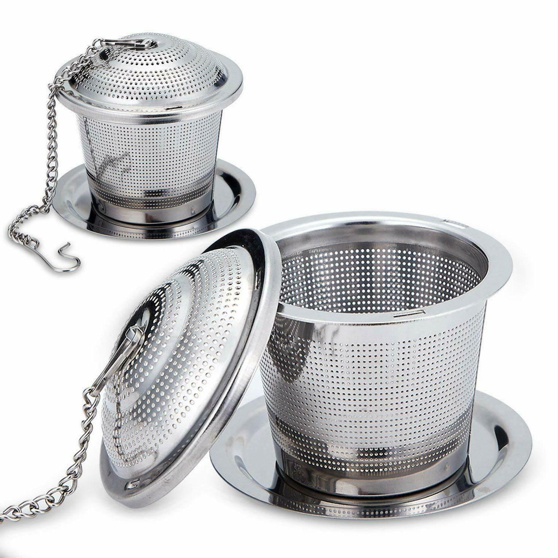 Good Moments Loose Leaf Stainless Steel Tea Infuser Set Drip