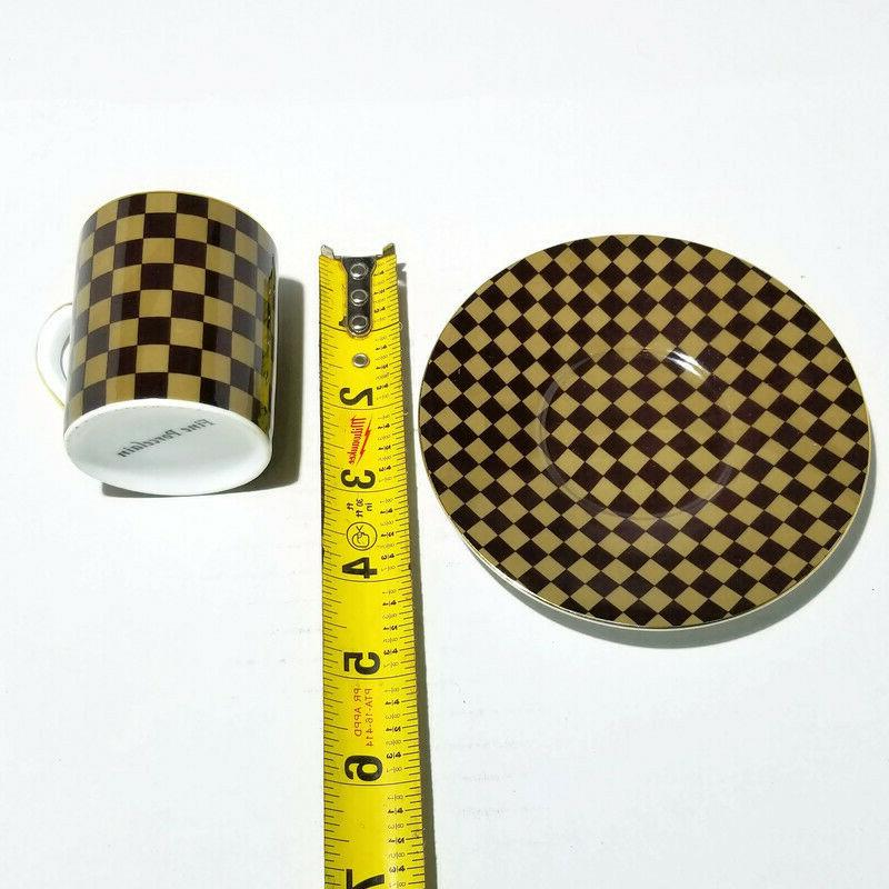LV- Tea, Coffee, Espresso Cup saucer, Gift