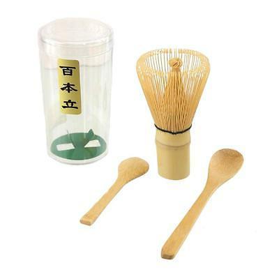 matcha set chasen tea whisk bamboo scoop