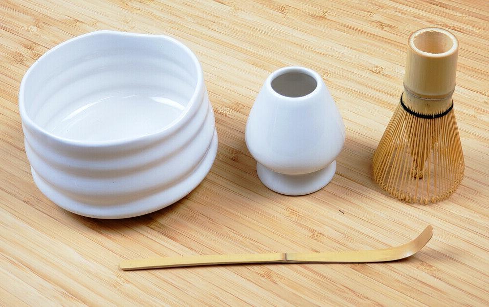Matcha Starter White 4 pcs Whisk