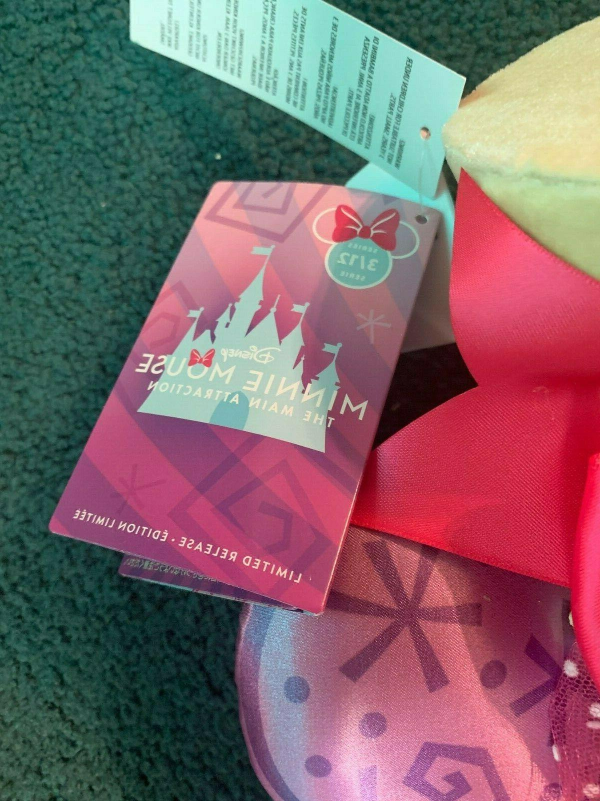 Disney Minnie Attraction Ears Band Set Mad Tea Limited