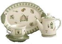 Pfaltzgraff Naturewood Anniversary Tea Set