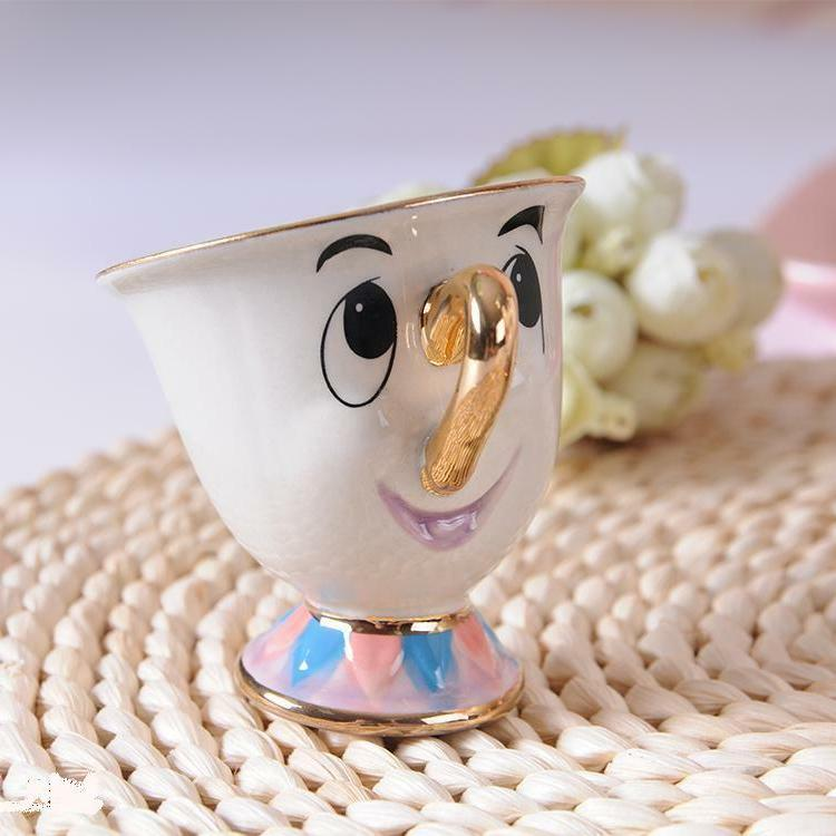 New And Beast Teapot Cartoon Mug Mrs Pot Cup Set Gift