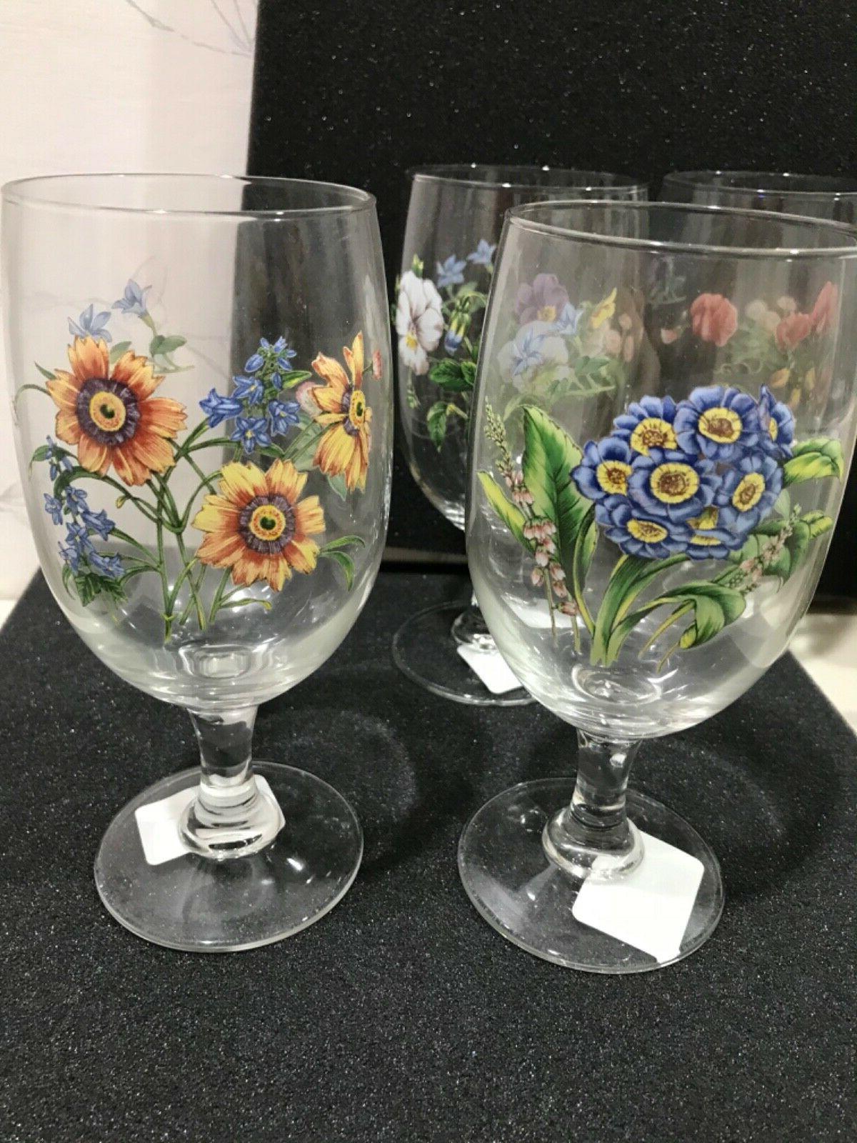 NEW Noritake GOURMET 4 ICED TEA GLASS SET SHORT BOWL