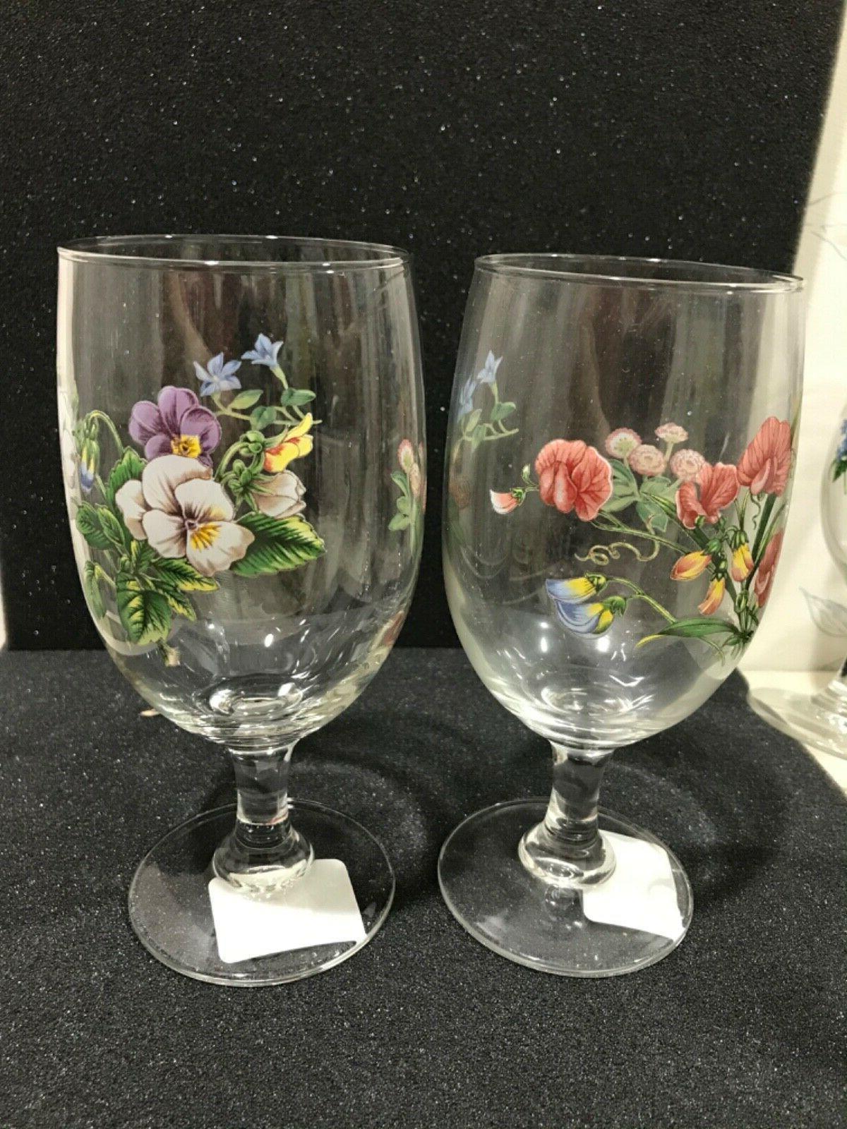 4 ICED TEA GLASS SET SHORT BOWL