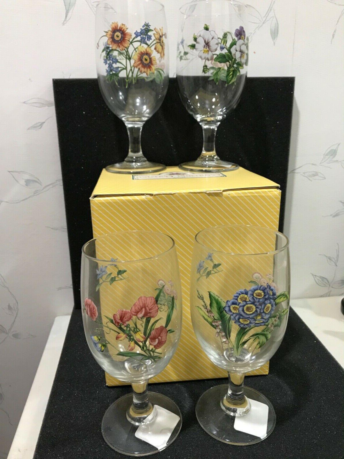 new gourmet garden 4 iced tea glass