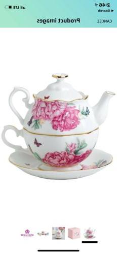 NEW Royal Albert MIRANDA KERR Friendship TEA FOR ONE Set  #