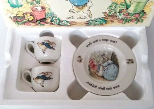 NEW Wedgwood CHILDREN'S Teacups 2