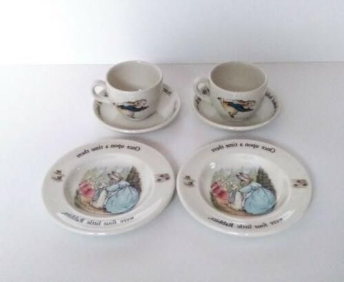 NEW Peter CHILDREN'S TEA SET Teacups