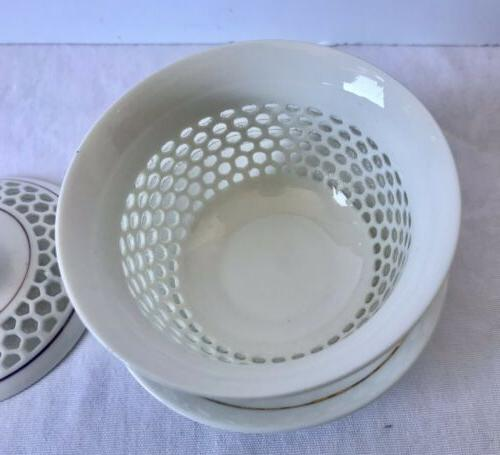 New Honeycomb Chinese Teacup Lid