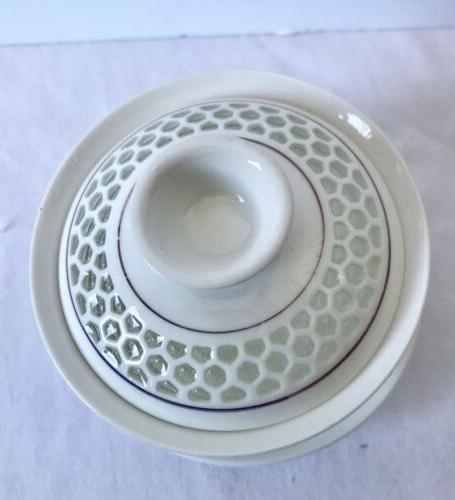 New Porcelain Honeycomb Chinese Gongfu Lid And