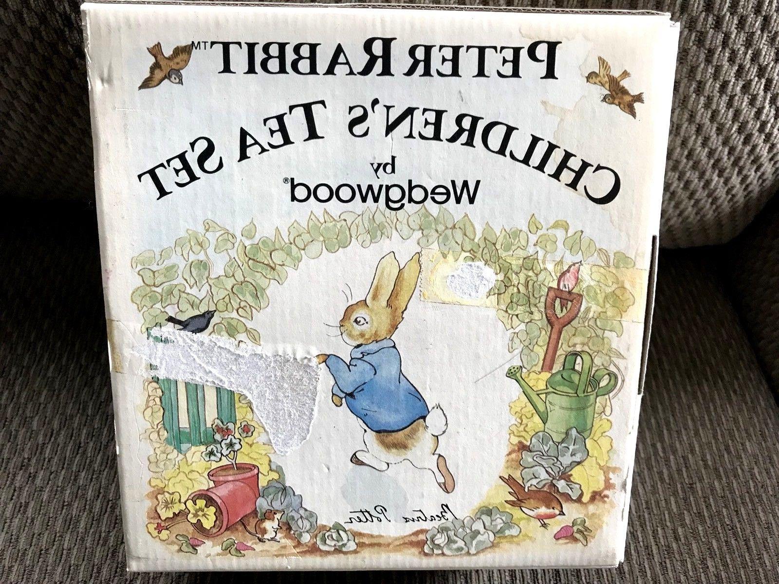 New Vintage Potter Rabbit Tea Set