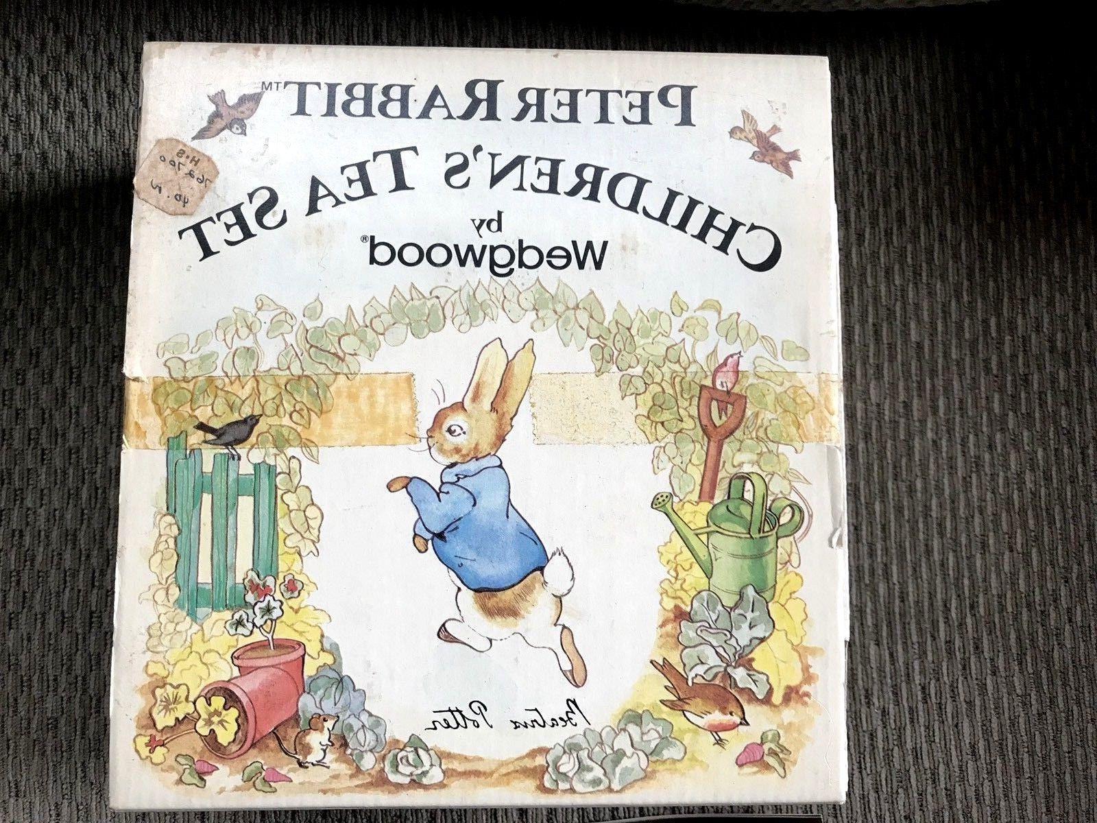 New Vintage WEDGWOOD Potter Peter Rabbit Children's Tea Mint 1980'