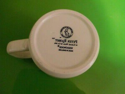 NIB WEDGWOOD PETER RABBIT CUP MUG ENGLAND 1996