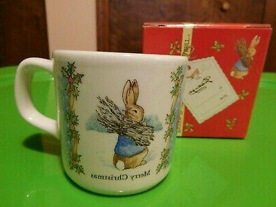 nib beatrix potter peter rabbit merry christmas