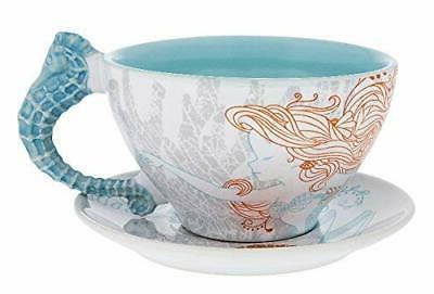 NIB Disney Parks The Little Mermaid Ariel Nautical Ceramic T