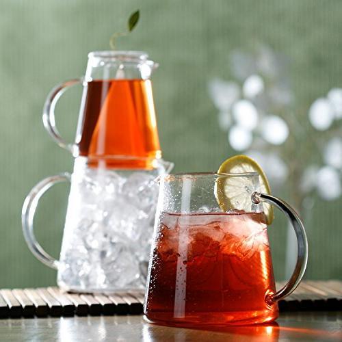 Tea TEA ICE Steeping Set Iced Tea Infuser Sampler 5 Tea