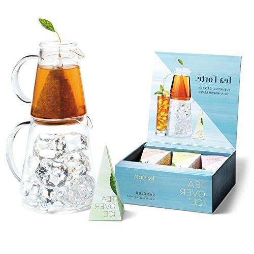 Tea TEA Set and Iced Tea Infuser Sampler 5