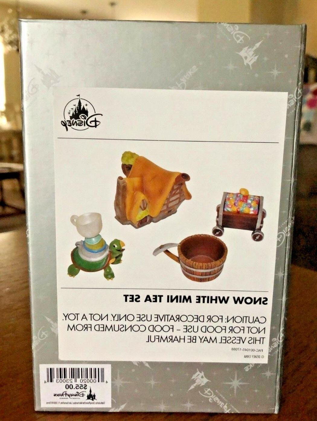 Disney Parks Snow White Mini Set Original Box
