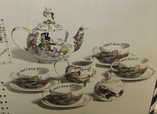 Paul Cardew Alice in Wonderland Mad Hatter's Tea Party Porce