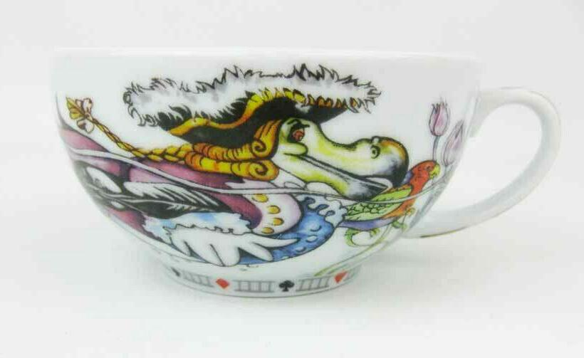 Paul Alice Wonderland Tea For Teapot & Cup Set