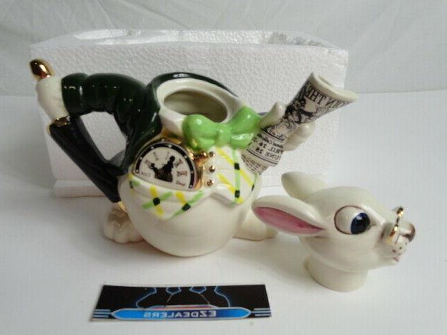 Paul Wonderland White Teapot 0/3000